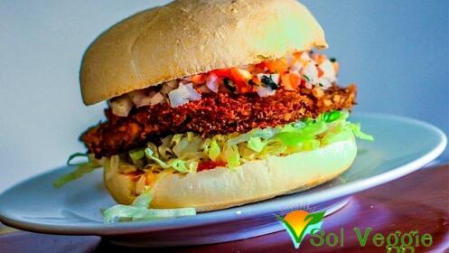 Burger o Bocadillo vegano en El Sol