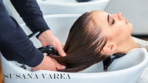 Sesión completa de peluquería en Susana Varea