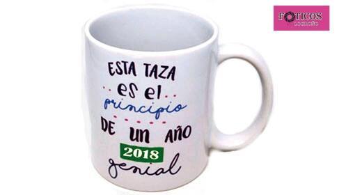 En Navidad regala una taza personalizada