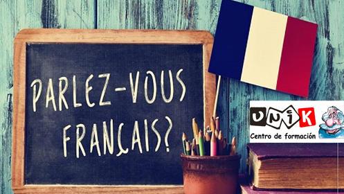 Curso de 10 horas de francés con profesor nativo