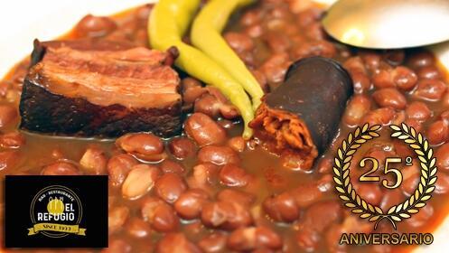 Cocina casera y tradicional en El Refugio de Viguera