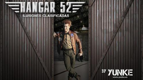 YUNKE presenta 'HANGAR 52' El show de magia más sorprendente en Riojaforum